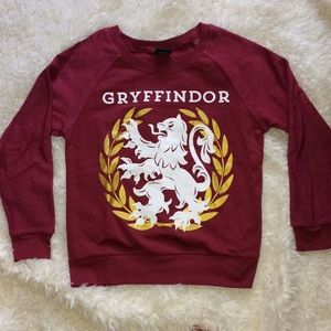 Sweaters - Harry Potter- Gryffindor crew neck